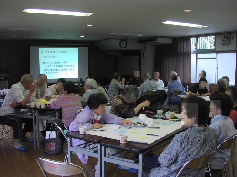 立川市富士見住宅での出前講座