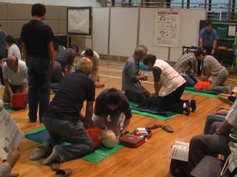 Ⅳ期4回 AED実習